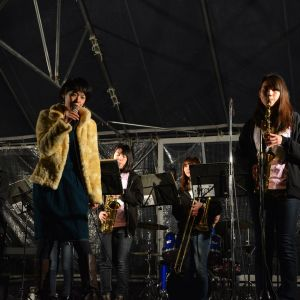 Nara Park's birthday fireworks and live performances