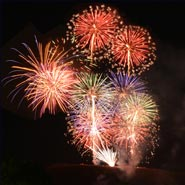 Fireworks and Live Music for Nara Park's Anniversary
