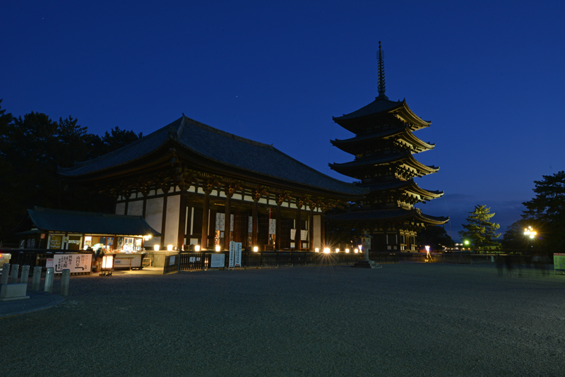 Kohfukuji Temple Special Admission at Night