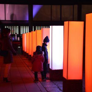 「呼吸する灯り」 東大寺ミュージアム